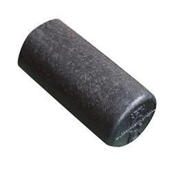 "Cando High Denisty Black Foam Roller 6"" x 12"""