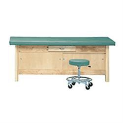 Treatment Table With Enclosed Cabinet & Drawer