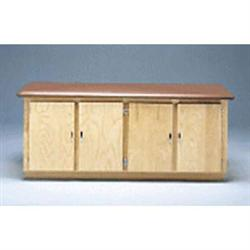 Bailey 4 Door Cabinet Table