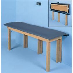 Folding Wall Table : Hausmann Wall Folding Treatment Table