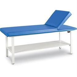 "Pro-Series Table W/ Adjustable Back & Shelf 25""H"