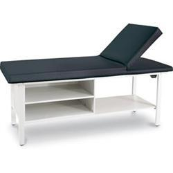 Pro-Series Table With Adjustable Back & Cabinet