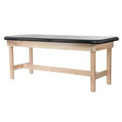 Edge Sport Series Flat Wood Treatment Table with H-Brace 31'H
