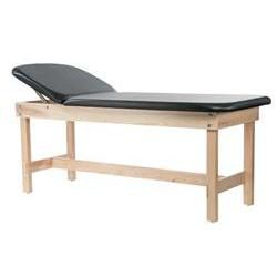 Edge Sport Series Lift Back Wood Treatment Table with H-Brace 31'H