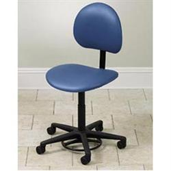 Hands Free Stool With Backrest