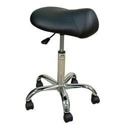 Oakworks® Professional Saddle Seat Stool High Height