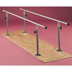 Parallel Bars 10' Platform Mount-Adjustable Height