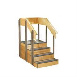 One Sided Staircase 36'