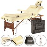 "Master® Massage Equipment 30"" Del Ray™ Salon Portable Massage Table with Therma-Top® Package Sand"