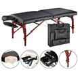 "Master® Massage Equipment 31"" Montclair™ Massage Table Package Black"