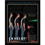 Poster Non Laminated 22X28 Posture:Keep It Strght