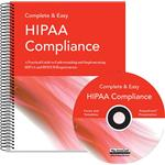 Complete & Easy HIPAA Compliance Book & CD