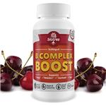 Biotree B Complex Boost Sublingual Supplement - 90 Count – Natural Cherry Flavor