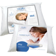 Buy 10 Chiroflow® Waterbase Pillows Get 2 FREE (6 Fiber Filled,6 Prem Memory Foam)