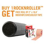 "BUY 18"" RockNRoller HD GET FREE RockTape® Kinesiology Tape"