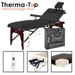 "Master® Massage Equipment 31"" Montclair™ Salon Therma-Top® Portable Massage Table Package"