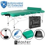 Master® Massage Equipment Calypso™ LX Portable Massage Table Package with NanoSkin™