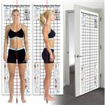Postural Analysis Grid Chart-Space Saver 2' X 6'