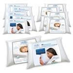 Buy 10 Get 2 Free - Chiroflow® Waterbase Pillows (6 Fiber Filled,6 Gel Foam)