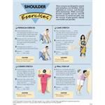 Shoulder Exercises, 50 Tear-Off Sheets/Pad