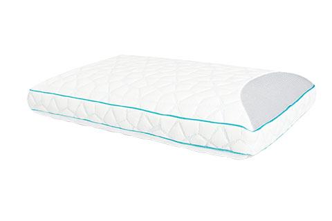 Traditional Memory Foam Trugel Pillow : Sleepharmony Velocity Trugel Charcoal Memory Foam