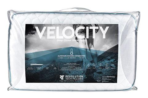 Sleepharmony Velocity Trugel Charcoal Memory Foam