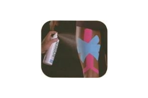Biofreeze Cryospray in conjunction with Kinesio Tape application