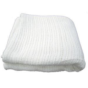 Thermal Cotton Blanket White 66