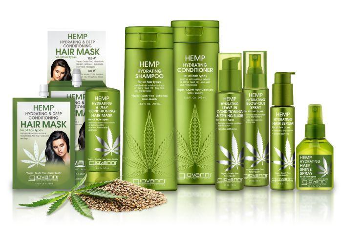 Giovanni® Hemp Hydrating Hair Care Collection