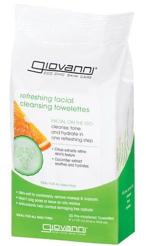 Giovanni Facial Cleansing Towelettes
