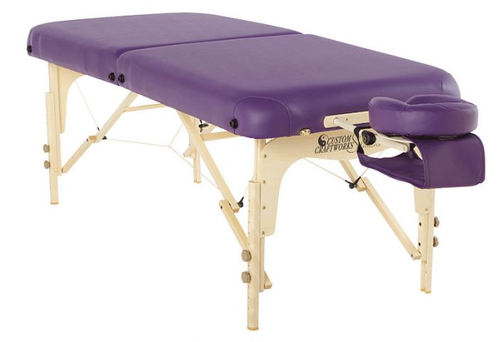 Custom Craftworks Solutions Heritage Portable Massage Table Package