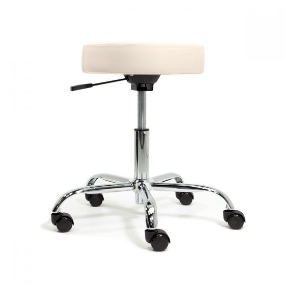 EarthLite® Pneumatic Rolling Stool without Back