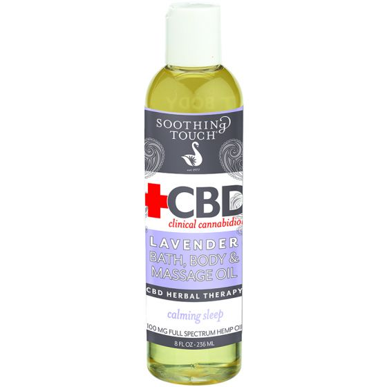 Soothing Touch® CBD Clinical Cannabidiol™ Bath, Body & Massage Oil
