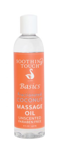 Soothing Touch Fractionated Coconut Oil 8 Oz