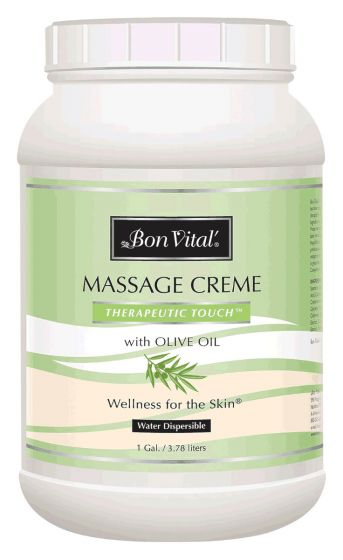 Bon Vital'® Therapeutic Touch™ Massage Crème & Massage Cream