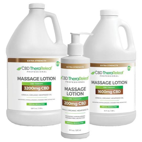 CBD TheraReleaf™ Professional Massage Lotion Extra Strength