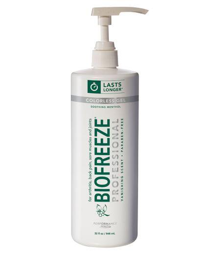 Biofreeze Professional - 32 Oz Gel Pump Colorless