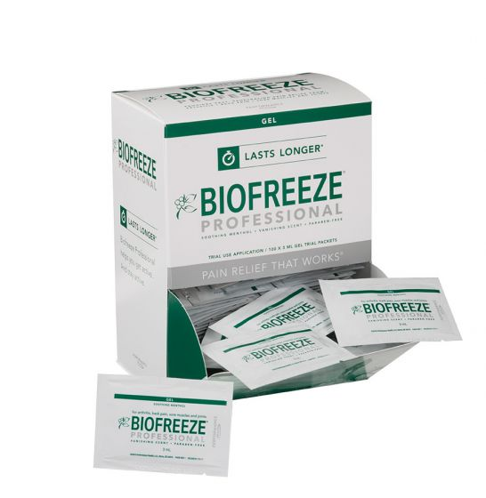 Biofreeze® Professional - Gravity Pack with 100 3ml Sample Packets