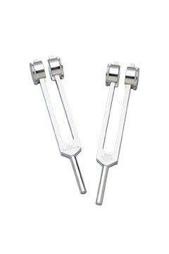 Mid-Ohm Tuning Fork Set+Instructions