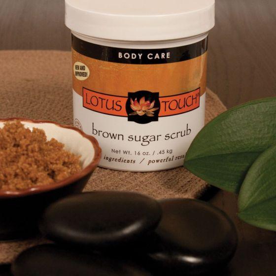 Lotus Touch Brown Sugar Scrub - Body Scrub