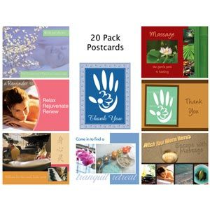Thank You Postcards - 20 Pack