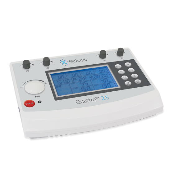 Quattro™ 2.5 Professional Electrotherapy Device - TENS/EMS/IF/Russian