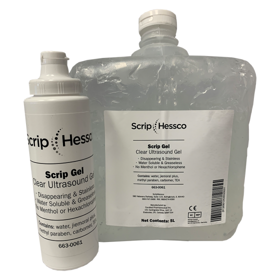 ScripHessco Clear Ultrasound Gel