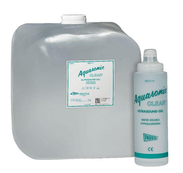 Aquasonic Clear Ultrasound Gel, 5 Liter W/Dispns