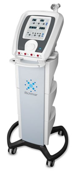 Richmar® Winner EVO 4 Channel Combo With Cart & Free Therapy Hammer