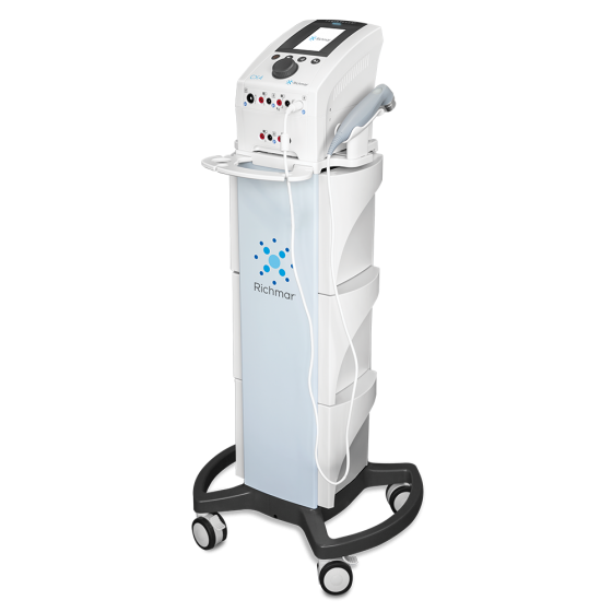 TheraTouch® CX4 with Cart - Combination Therapy 4-Channel Stimulation & Ultrasound System