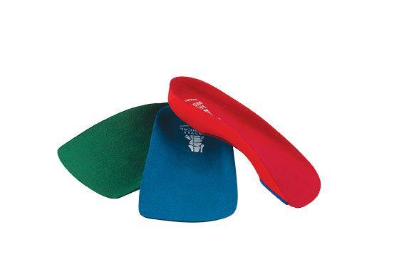 Vasyli 3/4 Length Orthotics, Pair - Custom Fit Orthotic Shoe Inserts & Insoles