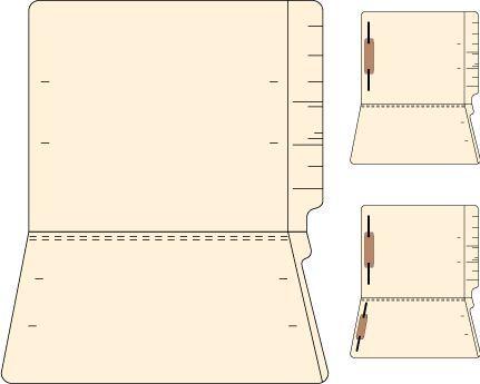 Manila Filing Folders 14Pt. - Medical File Folders