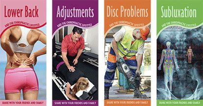 Chiropractic Lifestyle Educational Brochures