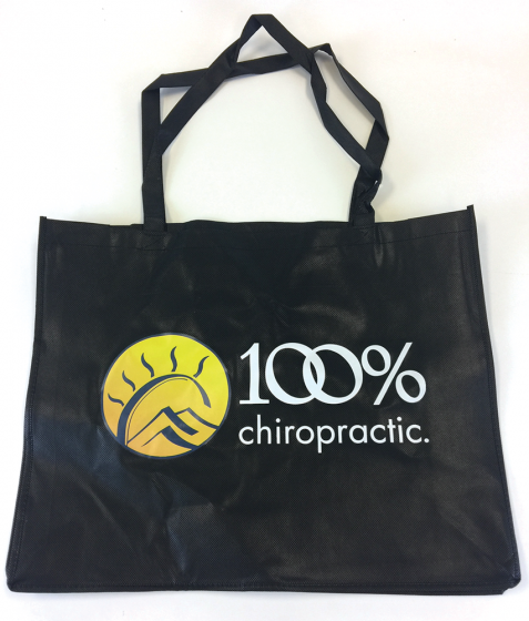 100% Chiropractic Tote Bag